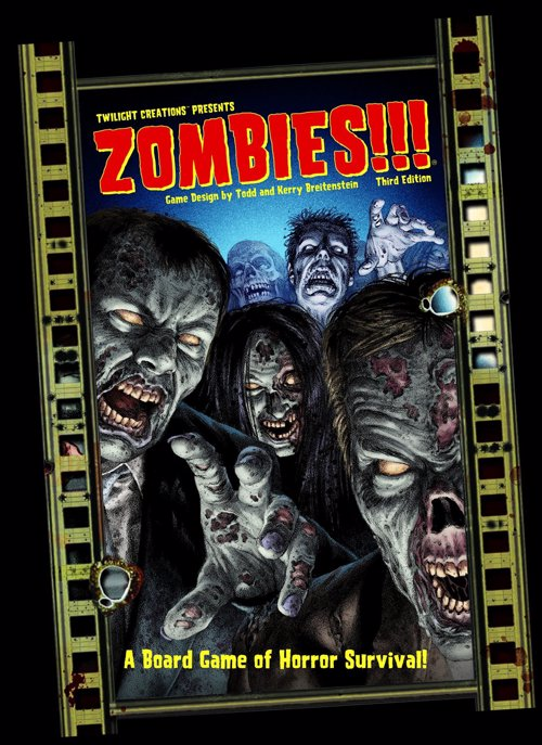 Zombies!!! Board Game - Classic survival horror board game now in it's 3rd edition