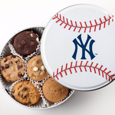 Mrs. Fields Major League Baseball™ cookies - Cookies and tins featuring Major League Baseball team logos, yum!