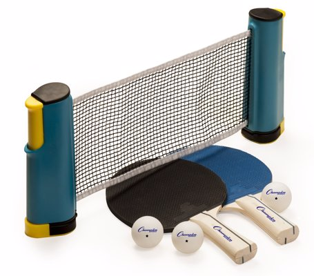 Portable Table Tennis Set - An affordable set for playing Table Tennis on your table at home