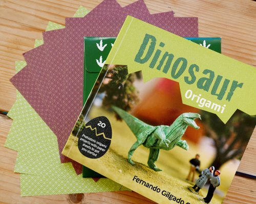 Dinosaur Origami - 20 Prehistoric Origami Projects with Paper Sheets to Get You Started