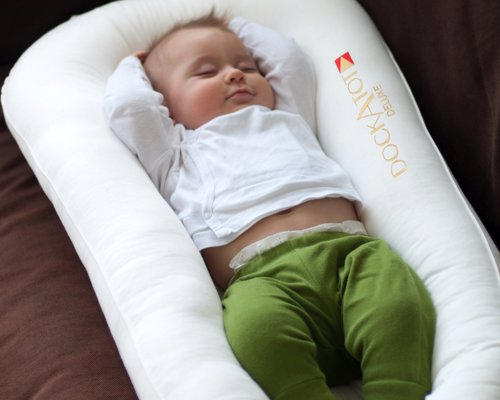 DockATot Deluxe Dock - The All in One Baby Lounger, Sleep Positioner, Portable Crib and Bassinet - Perfect for Co Sleeping