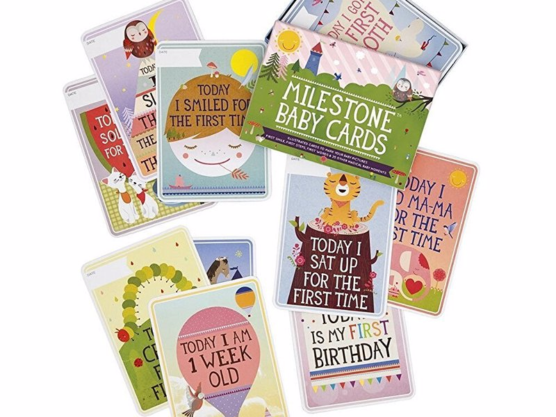 The Original Baby Cards by Milestone - Set of 30 Photo Cards to Capture your Baby's 1st Year