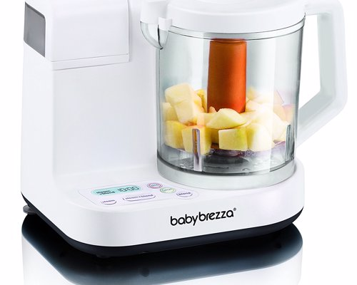 Baby Brezza Food Maker - This awesome glass baby food maker brings healthy, homemade baby food to your table in just minutes
