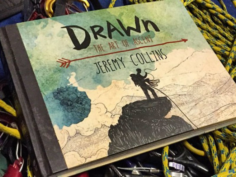 Drawn: The Art of Ascent - A hand-crafted, artfully told true story about the balance of an adventurous life