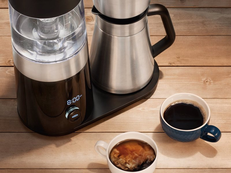 d9f50dc02 OXO On Barista Brain 9 Cup Coffee Maker - Automatically makes Gold Cup  Standard coffee at
