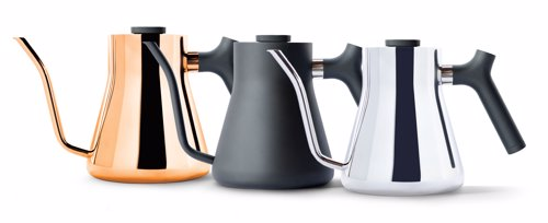 Stagg Pour-Over Kettle - Beautiful minimalist design meets perfect functionality for the design conscious coffee lover