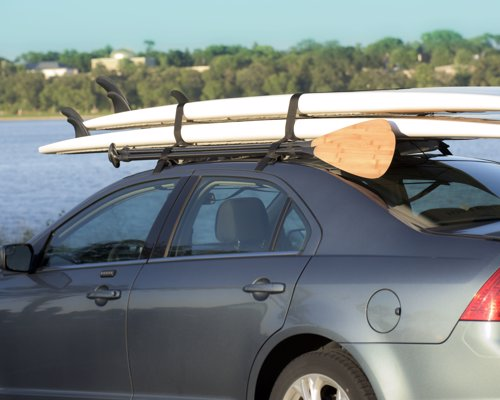Otium Soft Vehicle Rack - Light weight, quick fit car rack to carry your kayak, skis, ladders, lumber and much more