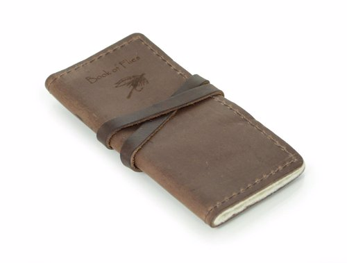 Rustic Book of Fishing Flies - Keep all your fishing flies tidy and organized