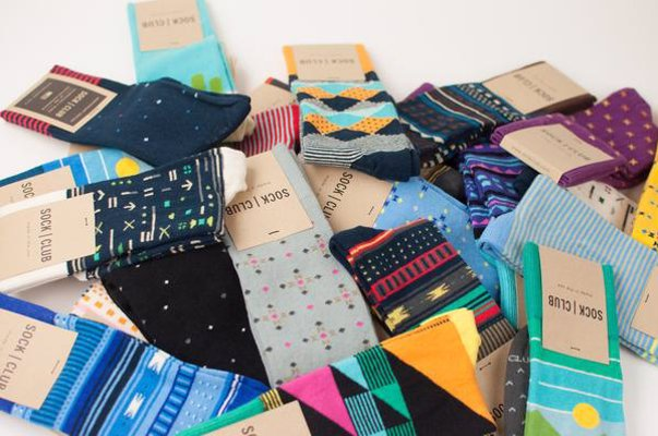 Sock Club Subscription - Stylish American made socks delivered to your door once a month