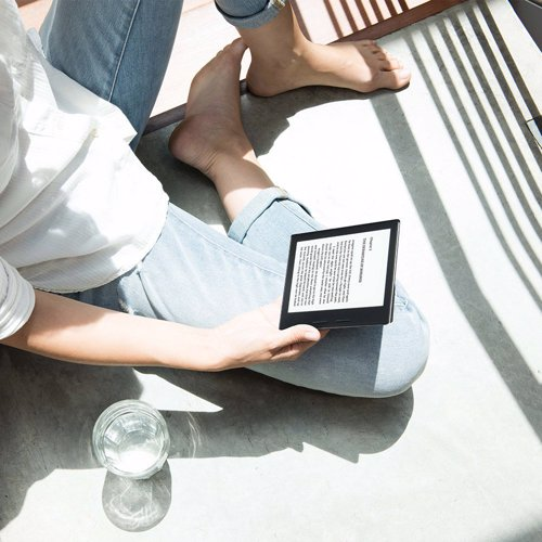 Kindle Oasis - The Ultimate E-reader - Kindle Oasis is the thinnest and lightest Kindle, with ergonomic design, a premium leather charging cover, and the highest resolution of any e-reader