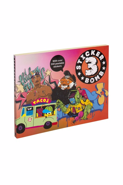 Stickerbomb by Studio Rarekwai - Sticker books packed full of graffiti and street art inspired designs