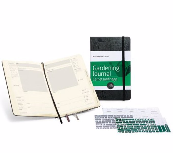 Moleskine Gardening Journal - Keep track of plants and pots, hardiness zones, plant care records and more