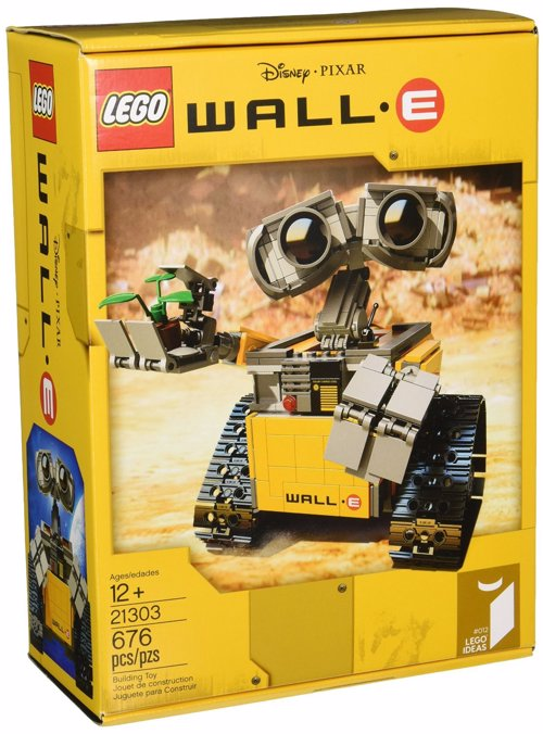 LEGO WALL-E - Build a beautifully detailed LEGO version of WALL-E - the last robot left on Earth!