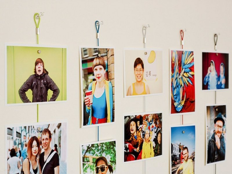 Magnetic Photo Rope - A quick and easy way to hang your photos creatively