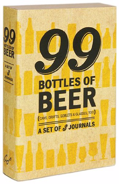99 Bottles of Beer Journal - Mini journals designed for beer geeks