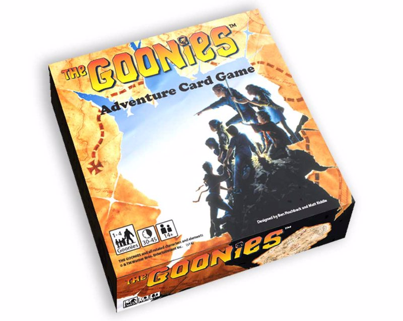 The Goonies: Adventure Card Game - A cooperative card based quest to find the treasure of legendary pirate one-eyed willy