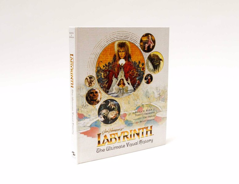 Labyrinth: The Ultimate Visual History - A feast of sketches, concept art and set photography mixed with in-depth comments from the cast and crew covering one of the most unique and cherished fantasy films of all time