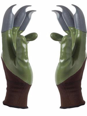 Honey Badger Garden Gloves - Digging and planting gloves that prevent worn out finger tips and broken nails