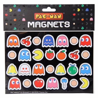 Pac-Man Magnets - Cute little Pac-Man magnets  for your fridge or locker