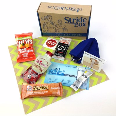 StrideBox – Subscription Box For Runners