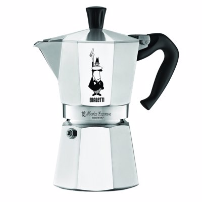 Bialetti Moka Express - The original Italian design classic stove top espresso maker