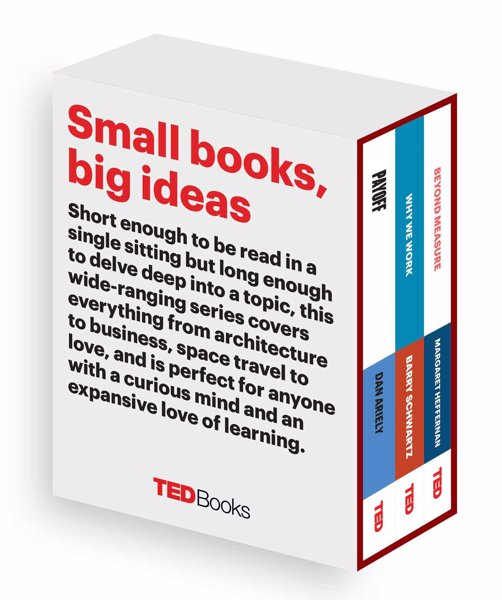 TED Books Box Set: The Business Mind - TED Books pick up where TED Talks leave off, this set includes books from three of the leading business minds of our time