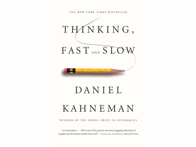 Thinking, Fast and Slow - Daniel Kahneman - A tour of the mind explaining two systems that drive the way we think and make decisions, compelling reading for fans of psychology, science and business