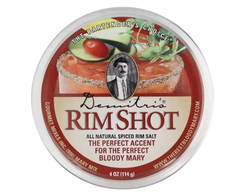 Demitri's Bloody Mary Spiced Rim Salt - The perfect way to round off the ultimate home made Bloody Mary