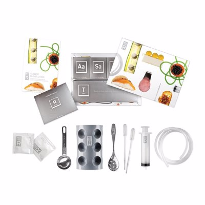 Molecule-R Cuisine Molecular Gastronomy Kit - Everything you need to experiment at home with molecular gastronomy techniques such as spherification, emulsification and gelification