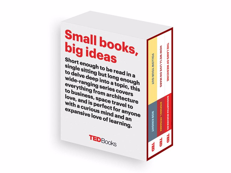 TED Books Box Set: The Science Mind - TED Books pick up where TED Talks leave off, this set includes books from three of the leading business minds of our time