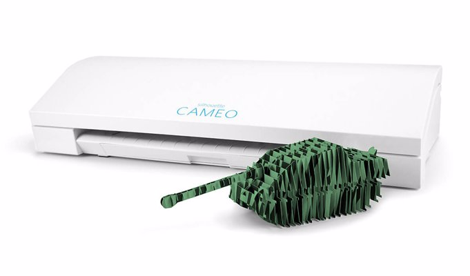 Silhouette Cameo Cutting Machine - An indespensibe crafting tool that cuts your intricate designs into paper, cardstock, vinyl, fabric and much more