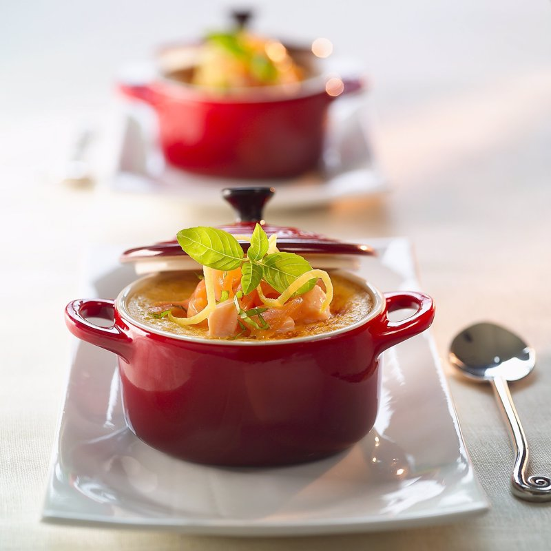 Le Creuset Petite Casseroles - These mini 8oz casseroles are great for individually portioned dishes or as decorative pots for your kitchen counter