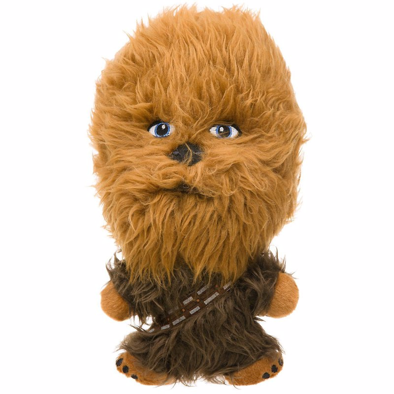 Chewbacca Plush Dog Toy - Chew it up fuzzball!