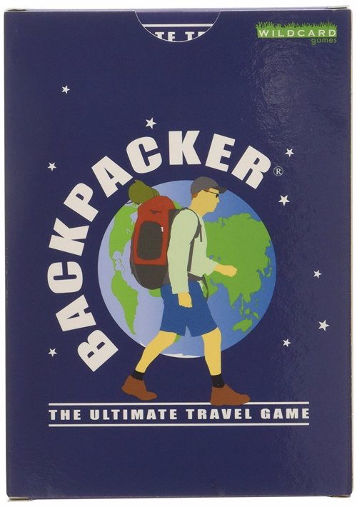 Backpacker: The Ultimate Travel Game - A portable card game all about travelling the globe