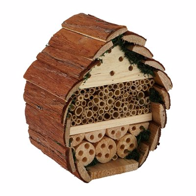 Bee & Insect Hotel - Encourage pollinators into your garden with these functional & attractive homes for solitary bees and other insects