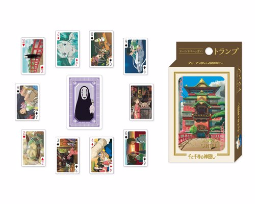 Studio Ghibli Playing Cards