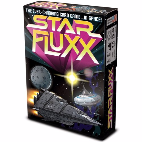 Star Fluxx - Space themed edition of the card game where the rules change as you play, filled with geeky sci-fi references and humor