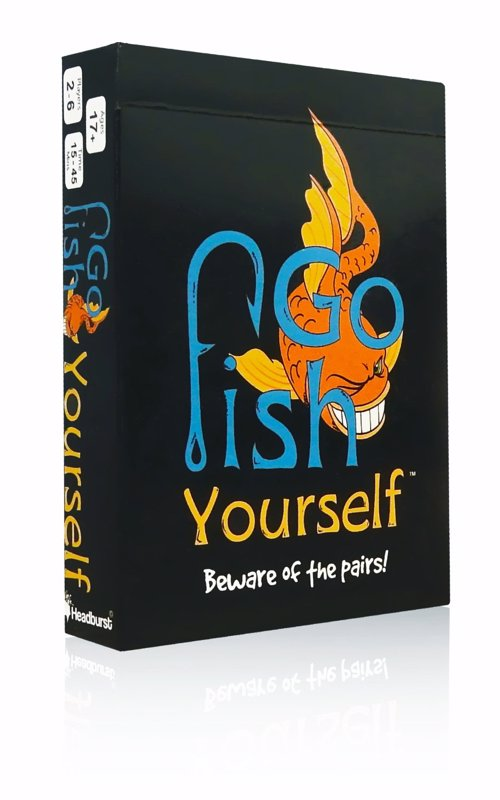 Go Fish Yourself Party Game - A wickedly fun, grown-up version of Go Fish for people who like a challenge and sabotaging friends