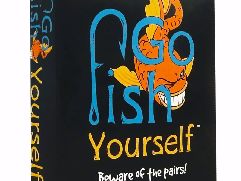 Go fish yourself party game expertly chosen gifts for Go fish instructions