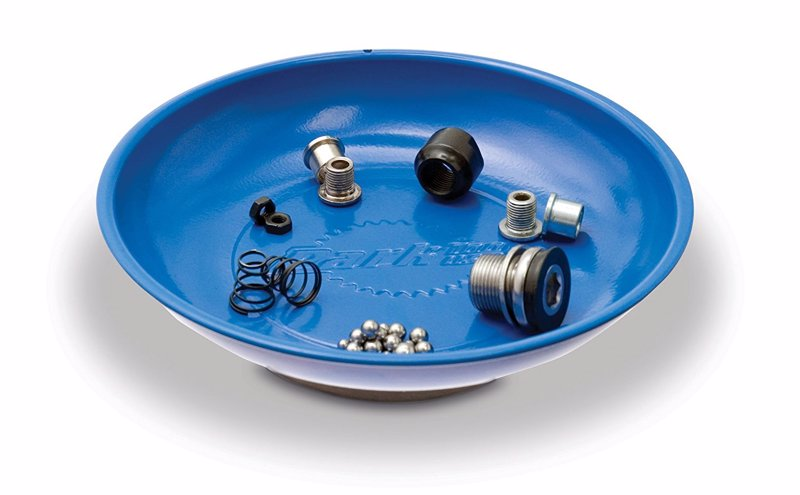 Park Tool Magnetic Parts Bowl - Keep all those little bolts, screws, nuts and washers in one place