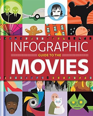Infographic Guide to the Movies - Over 100 original illustrations to amaze and astound movie lovers of every major movie genre, and every major movie market around the world