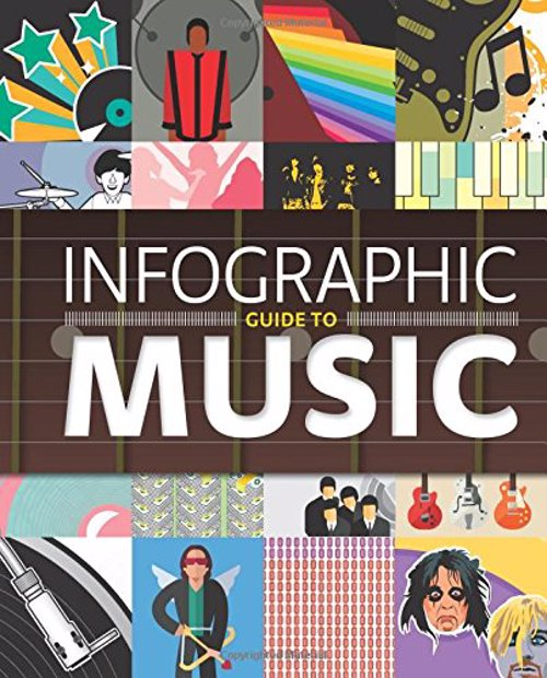 Infographic Guide To Music (Infographic Guides) - Fascinating, insightful, clever and stunning, these infographic diagrams will help you see music and the music industry in a whole new light.