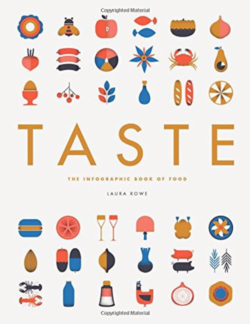Taste: The Infographic Book of Food - Packed with bite-sized pieces of fascinating illustrated foodie information, from cooking tips and nutritional facts to details of weird culinary traditions