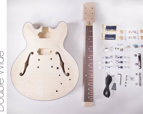 DIY Guitar and Bass Kits