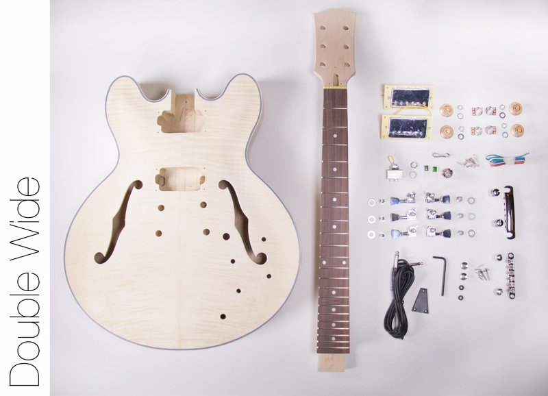 DIY Guitar and Bass Kits - A fun project for the guitar or bass player with a practical side