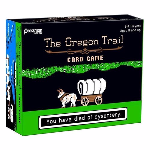 The Oregon Trail Card Game - Card game based on the classic computer game - will you die of dysentery?