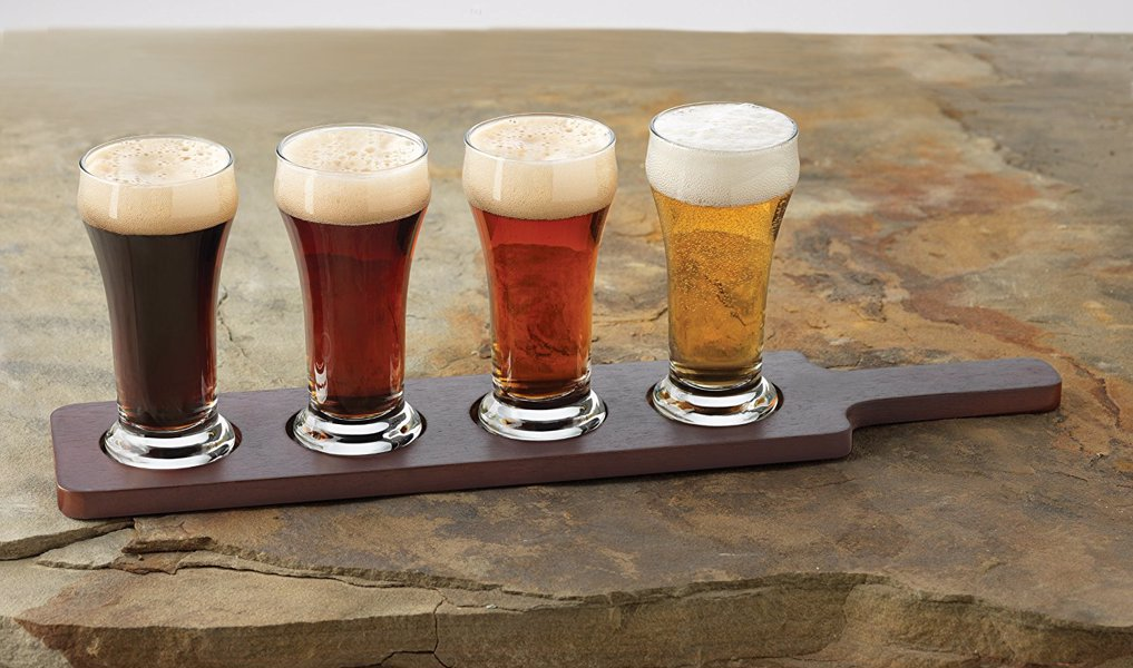 Libbey Craft Beer Flight - Sample a range of craft beers and pretend you're at your favourite micro brewery in the comfort of your own home