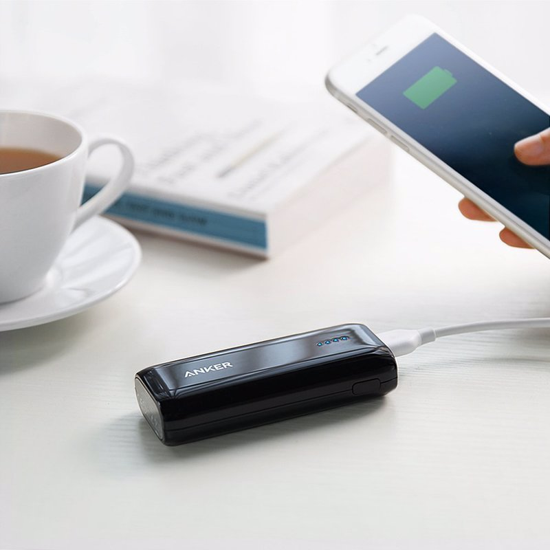 Anker Astro Ultra Compact Mobile Charger - One of the most popular and highest rated portable phone and gadget chargers available, designed for portability