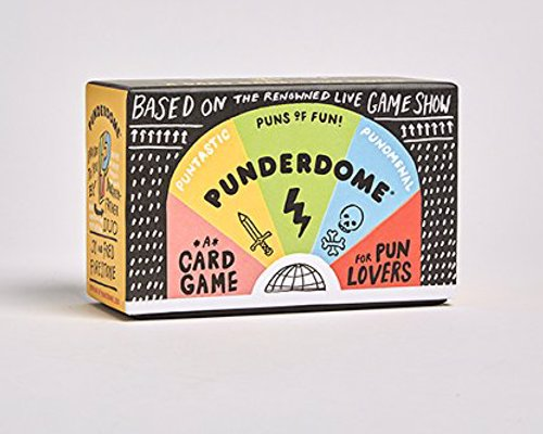 Punderdome: A Card Game for Pun Lovers - One part game, one part conversation starter, you don't need to be a pun master to master Punderdome