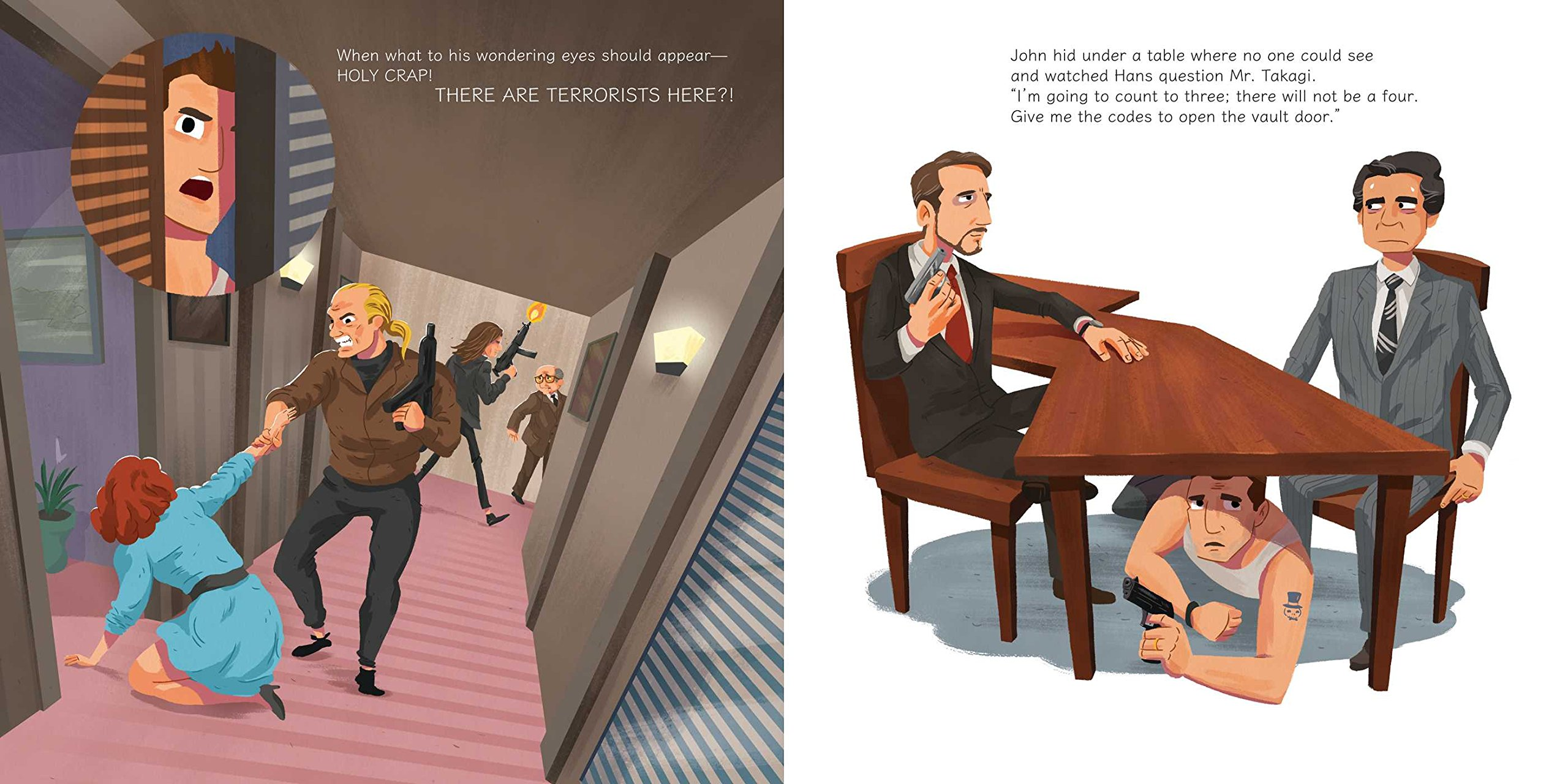 a die hard christmas the illustrated holiday classic expertly chosen gifts